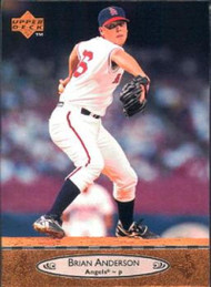 1996 Upper Deck #29 Brian Anderson VG California Angels