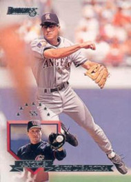 1995 Donruss #256 Gary DiSarcina VG California Angels