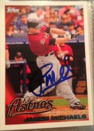 Jason Michaels Autographed 2010 Topps Update #US-12