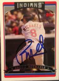 Jason Michaels Autographed 2006 Topps Update #UH9
