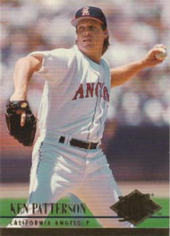 1994 Ultra #25 Ken Patterson VG California Angels