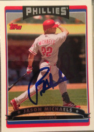 Jason Michaels Autographed 2006 Topps #139