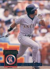 1994 Donruss #255 Luis Polonia VG California Angels