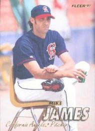 1997 Fleer #47 Mike James VG Anaheim Angels