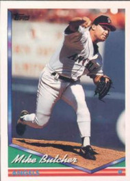 1994 Topps #236 Mike Butcher VG California Angels