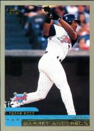 2000 Topps #97 Garret Anderson VG Anaheim Angels