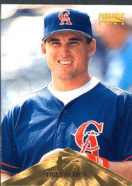 1996 Pinnacle #26 Tim Salmon VG California Angels