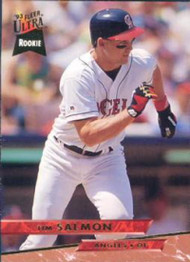 1993 Ultra #523 Tim Salmon VG California Angels