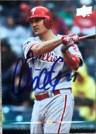 Chris Coste Autographed 2008 Upper Deck #196