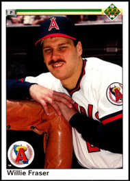 1990 Upper Deck #85 Willie Fraser VG California Angels