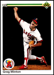 1990 Upper Deck #83 Greg Minton VG California Angels