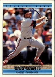 1992 Donruss #96 Gary Gaetti VG California Angels