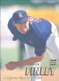 1997 Fleer #43 Chuck Finley VG Anaheim Angels