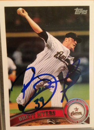 Brett Myers Autographed 2011 Topps #428
