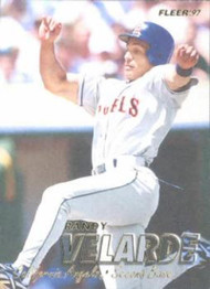 1997 Fleer #53 Randy Velarde VG Anaheim Angels