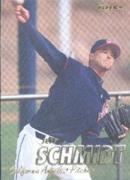 1997 Fleer #51 Jeff Schmidt VG Anaheim Angels