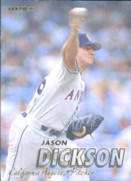 1997 Fleer #38 Jason Dickson VG Anaheim Angels