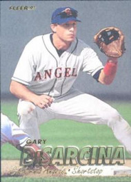 1997 Fleer #39 Gary DiSarcina VG Anaheim Angels