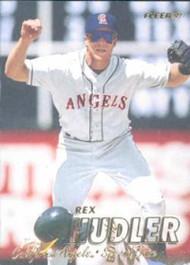 1997 Fleer #46 Rex Hudler VG Anaheim Angels