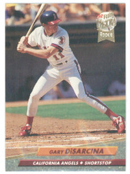 1992 Ultra #24 Gary DiSarcina VG California Angels