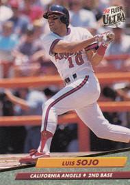 1992 Ultra #31 Luis Sojo VG California Angels