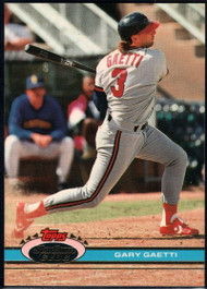1991 Stadium Club #353 Gary Gaetti VG California Angels