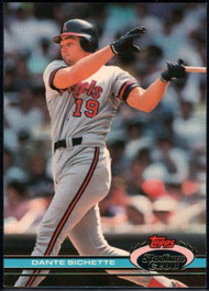 1991 Stadium Club #211 Dante Bichette VG California Angels