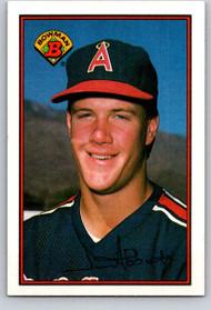 1989 Bowman #39 Jim Abbott VG RC Rookie California Angels