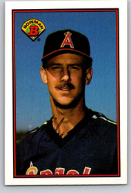 1989 Bowman #42 Mike Witt VG California Angels