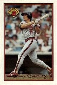 1989 Bowman #53 Brian Downing VG California Angels