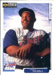 1998 Collector's Choice #282 Cecil Fielder VG  Anaheim Angels
