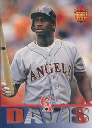 1994 Triple Play #12 Chili Davis VG California Angels