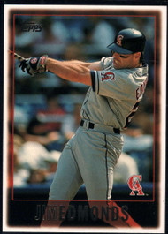 1997 Topps #75 Jim Edmonds VG  Anaheim Angels