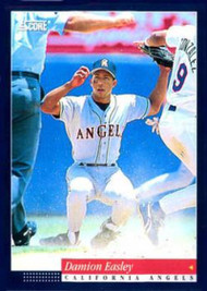 1994 Score #17 Damion Easley VG California Angels