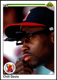 1990 Upper Deck #38 Chili Davis VG California Angels
