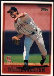 1997 Topps #128 Mark Langston VG  Anaheim Angels
