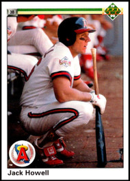 1990 Upper Deck #19 Jack Howell VG California Angels