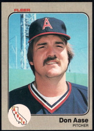 1983 Fleer #76 Don Aase VG California Angels