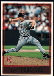 1997 Topps #156 Troy Percival VG  Anaheim Angels