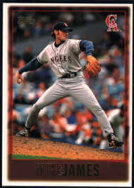 1997 Topps #431 Mike James VG  California Angels