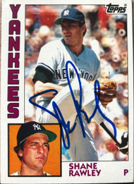 Shane Rawley Autographed 1984 Topps #254