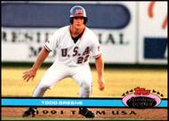 1992 Stadium Club Dome #69 Todd Greene USA VG USA