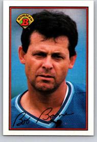 1989 Bowman #119 Bob Boone VG Kansas City Royals