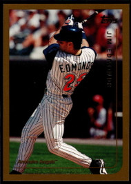 1999 Topps #130 Jim Edmonds VG Anaheim Angels