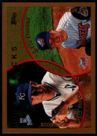 1999 Topps #216 Matt Burch/Seth Etherton VG RC Rookie Kansas City Royals/Anaheim Angels