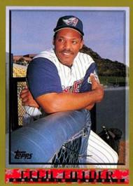 1998 Topps #374 Cecil Fielder VG Anaheim Angels