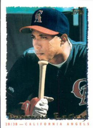 1995 Topps #306 Damion Easley VG  California Angels