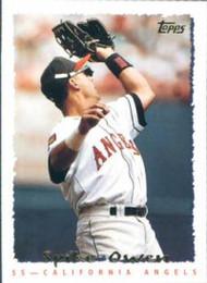 1995 Topps #520 Spike Owen VG  California Angels