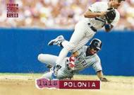 1994 Stadium Club #11 Luis Polonia VG California Angels