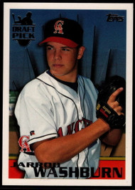1996 Topps #23 Jarrod Washburn VG RC Rookie California Angels